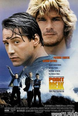 Locandina del film point break - punto di rottura