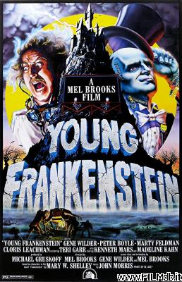 Locandina del film frankenstein junior
