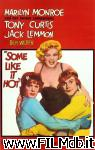 poster del film some like it hot