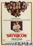 poster del film fellini satyricon