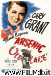 poster del film arsenic and old lace