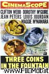 poster del film Three Coins in the Fountain