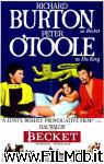 poster del film becket e il suo re