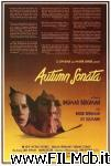 poster del film sinfonia d'autunno