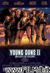 poster del film young guns 2 - la leggenda di billy the kid