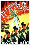 poster del film Follie di Broadway 1936