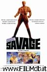 poster del film doc savage, the man of bronze