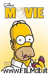 poster del film the simpsons movie