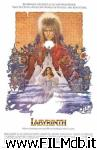 poster del film labyrinth - dove tutto è possibile