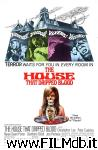 poster del film the house that dripped blood