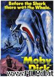 poster del film moby dick