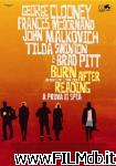 poster del film burn after reading - a prova di spia