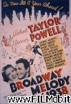 poster del film Follie di Broadway 1938