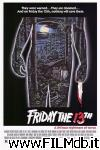 poster del film friday the 13th