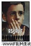 poster del film assault - profondo nero