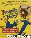 poster del film francis in the navy