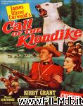 poster del film call of the klondike