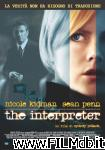 poster del film the interpreter